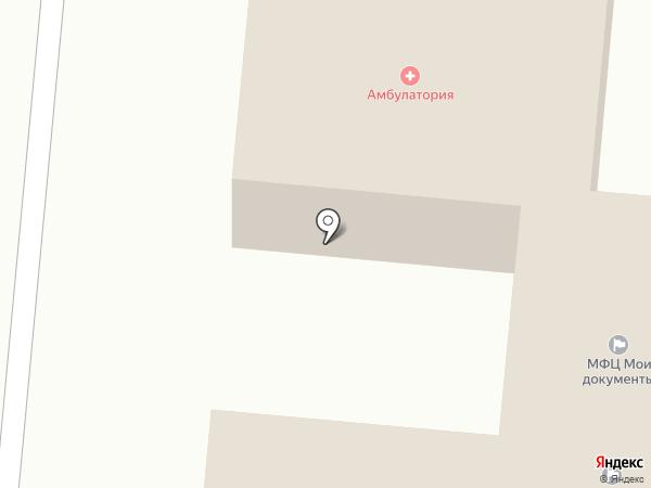 Бершетская сельская врачебная амбулатория на карте