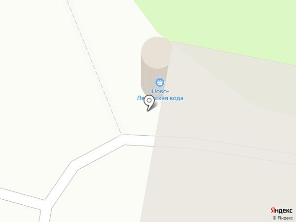 Ново-Лядовская вода на карте