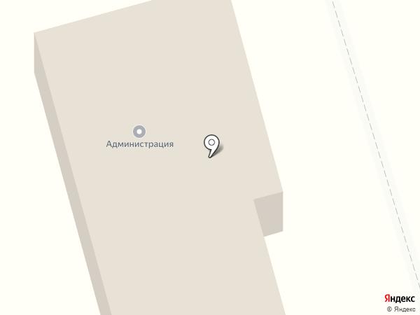 Горное ущелье на карте