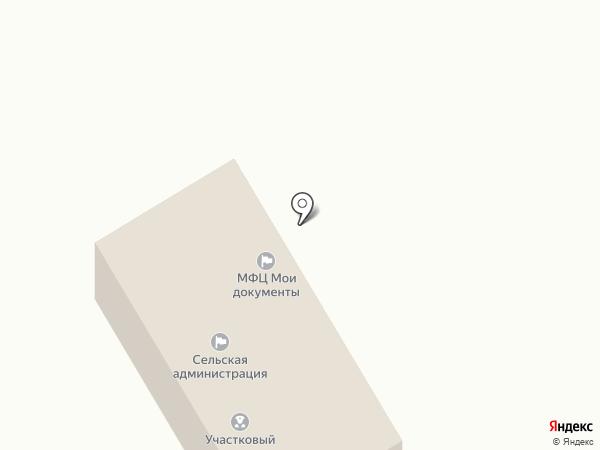 Абзаковский сельсовет на карте
