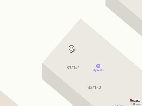 Apreski Бунгало на Банном на карте