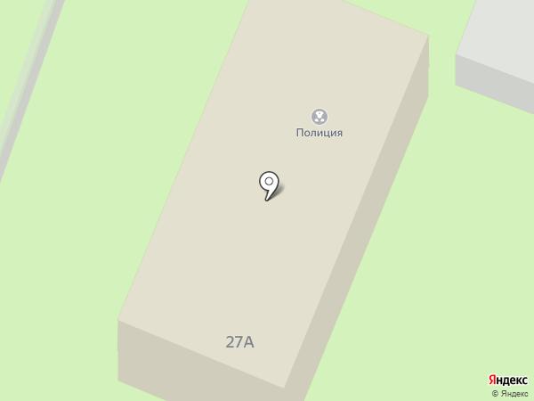 Отделение полиции Зеленая поляна на карте
