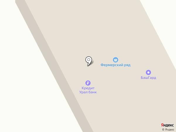 Мон Блан на карте