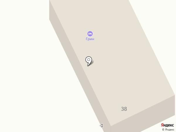 Грин на карте