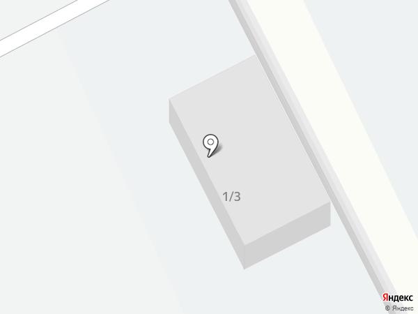 Автомобильная стоянка №2 на карте