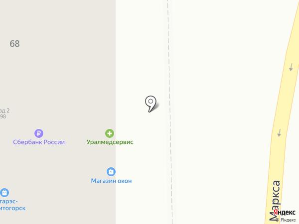 Маркиза на карте