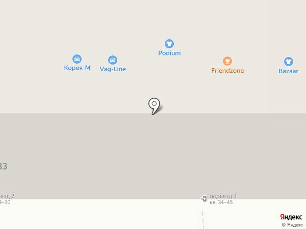 Жаккард на карте