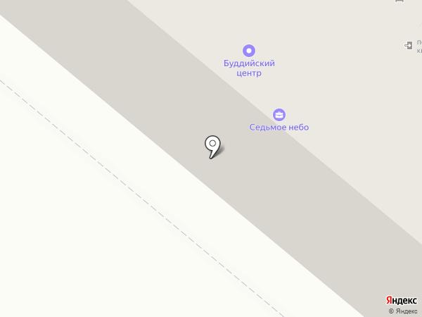 Клубок на карте