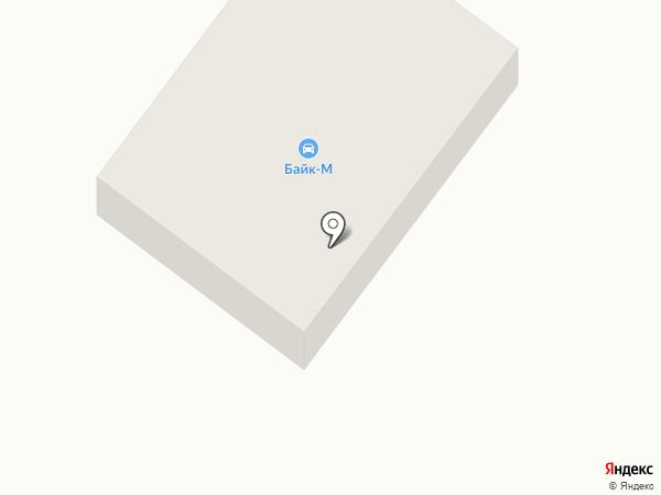 Байк-М на карте