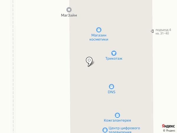 Магазин пряжи и домашнего текстиля на карте