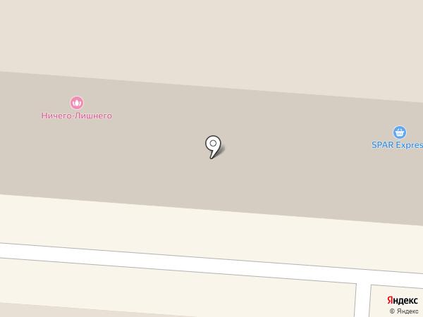 Магазин нижнего белья и домашней одежды на карте