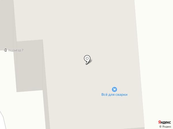 Сварной на карте