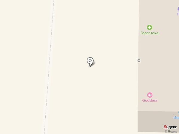 Жираф на карте