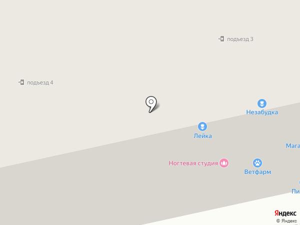 Торжок на карте