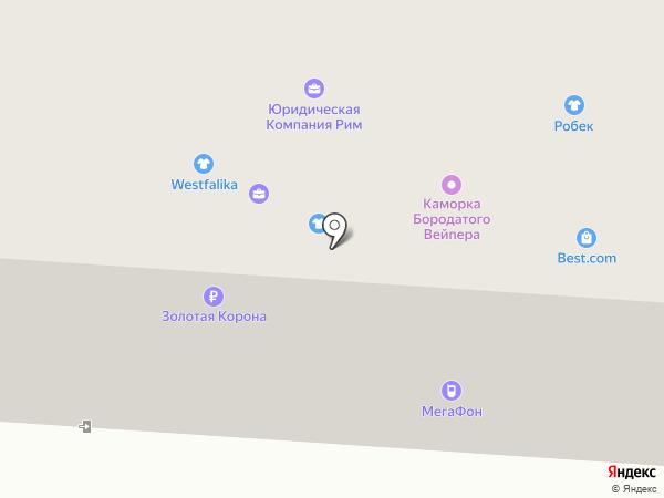 АвтоТехнологии на карте