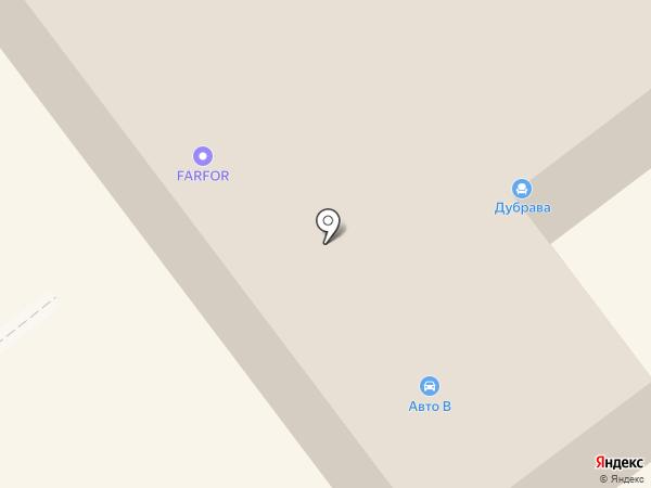 Auto-V на карте