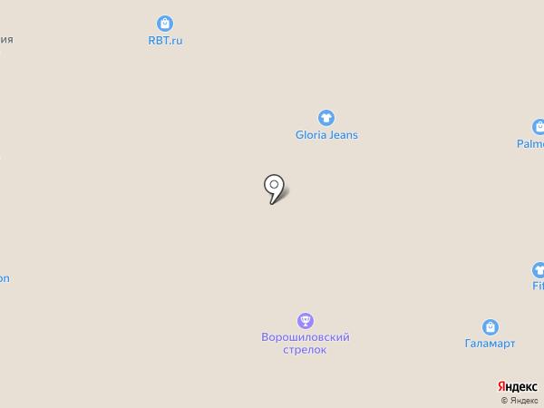 Фамиан на карте
