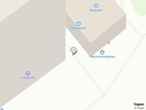 Индейкин на карте