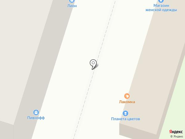 Полигран на карте