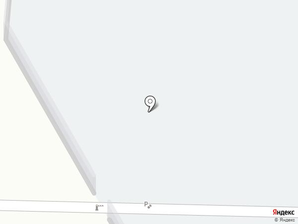 Автостоянка на ул. Бахтеева на карте