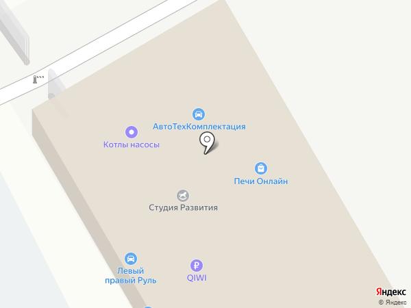 Автокор на карте