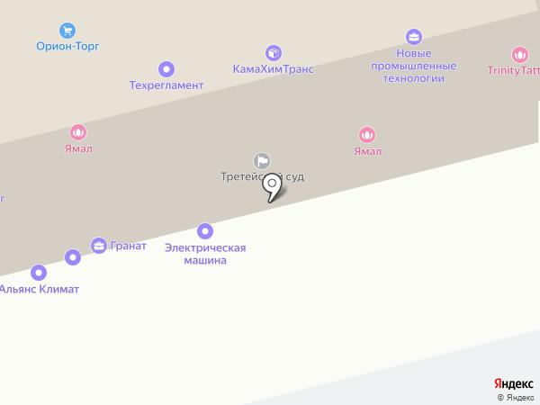 Транс-Селенга на карте
