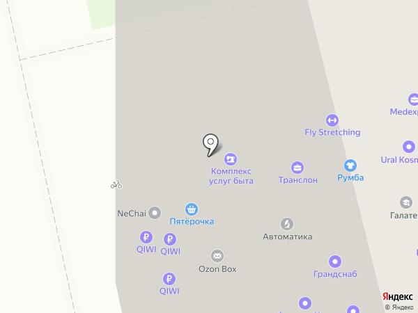 ПЕРВЫЙ. МОДНЫЙ. на карте