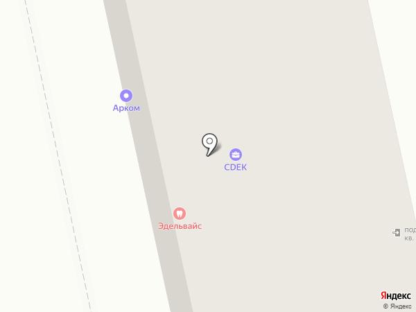 Жевастик на карте