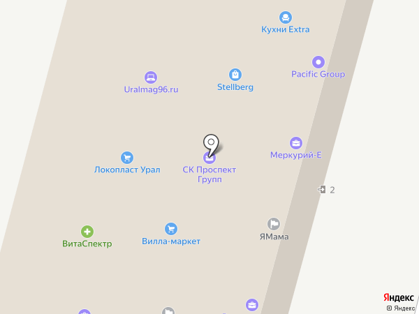 Центр загородной недвижимости на карте