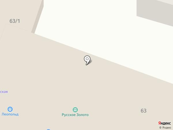Лорнет на карте