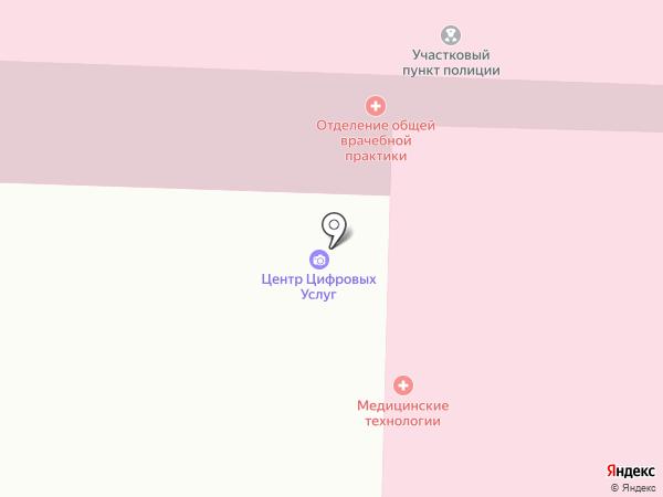 Макросфера на карте