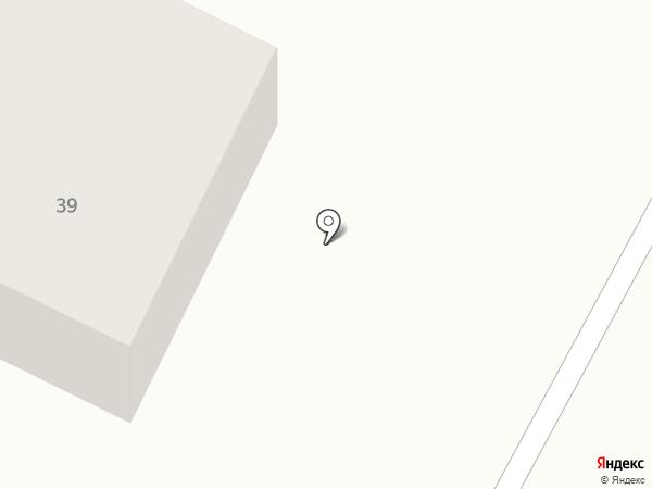 Радонежский на карте