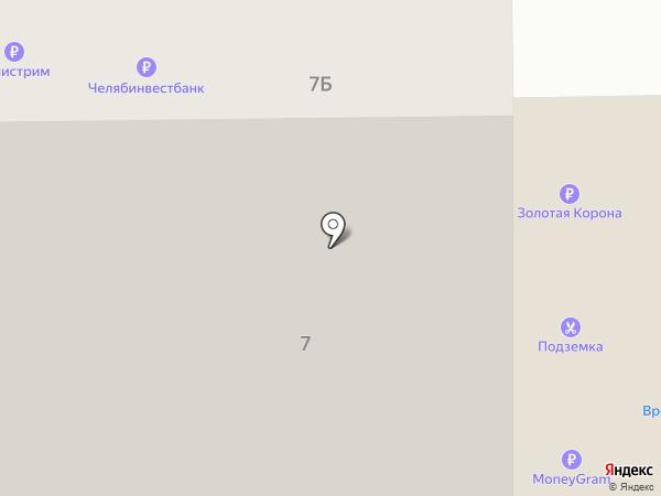 Пингвинёнок на карте