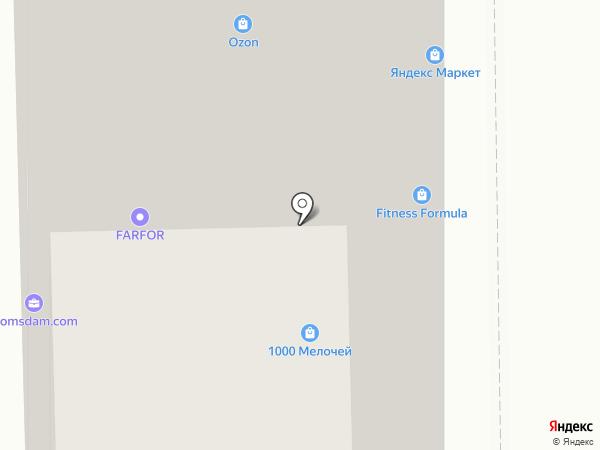ПАНДА на карте