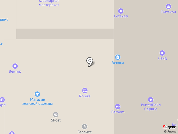 Roniks на карте