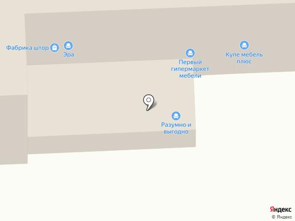 Мебельком74 на карте