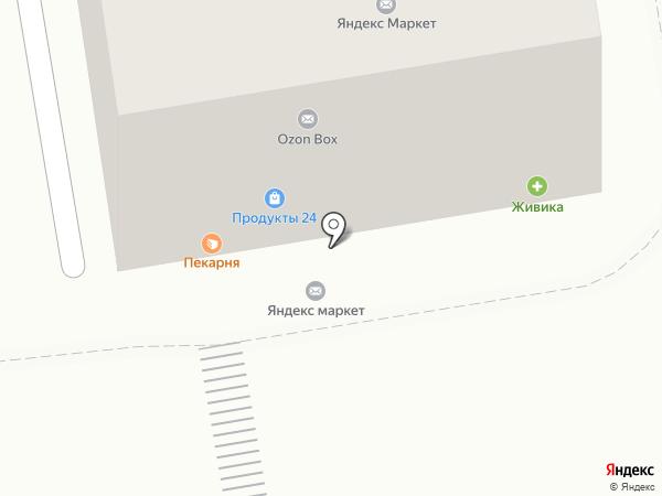 Первый Кеговый на карте