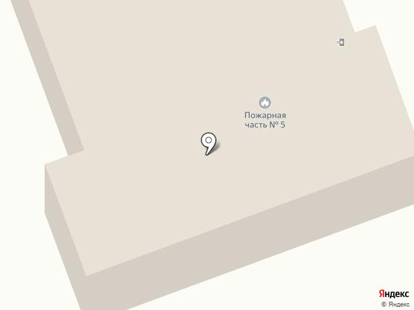 Пожарная часть Тракторозаводского района на карте