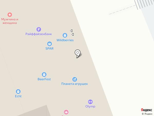 Fresh bar на карте