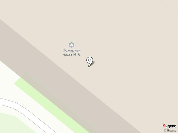 Пожарная часть Ленинского района на карте