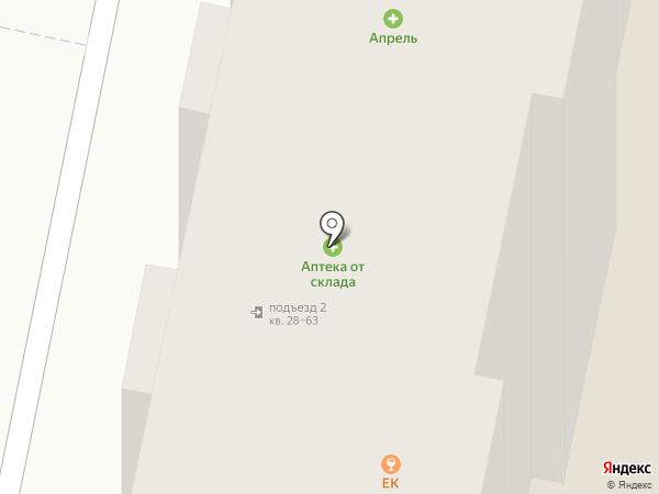 Василек на карте