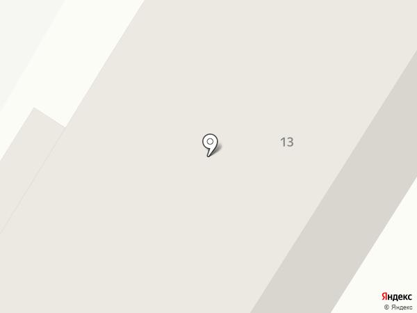 Каменское на карте