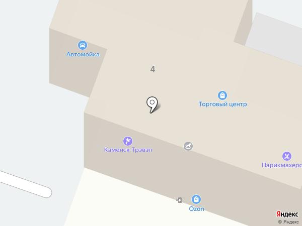 Kamensk-travel на карте