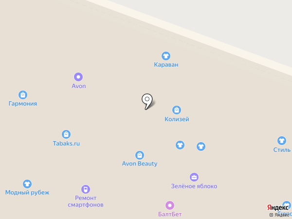 ЛЕРО на карте