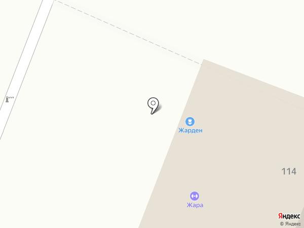 Жарден на карте