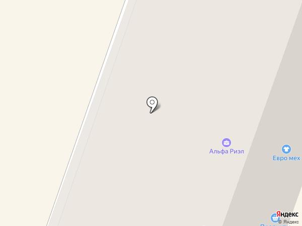 Марсель на карте
