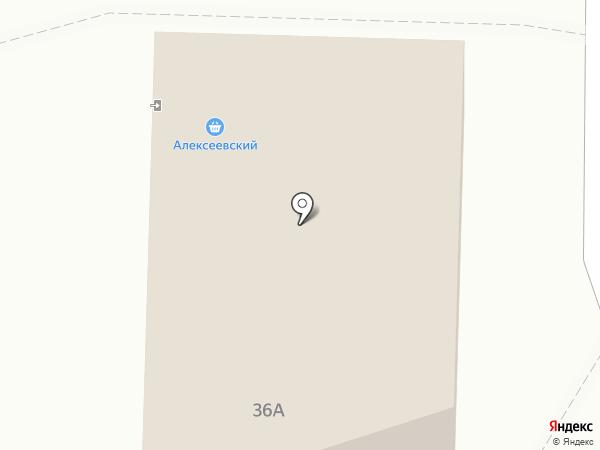 Продовольственный магазин на Парковой на карте