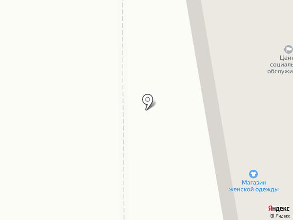 Клинур на карте