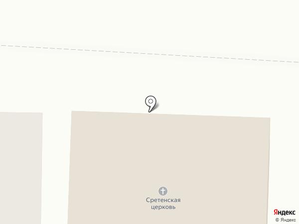 Храм Сретения Господня на карте