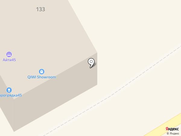 Техноавиа-Курган на карте